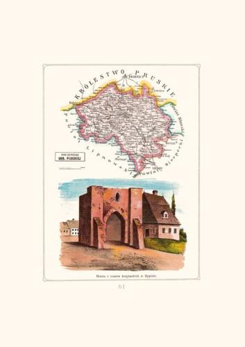 Mapa Rypin Powiat Rypinski Gubernia Plocka A3 Stylowy Dwor