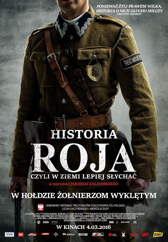 Historia Roja Plakat Filmowy 69x975cm